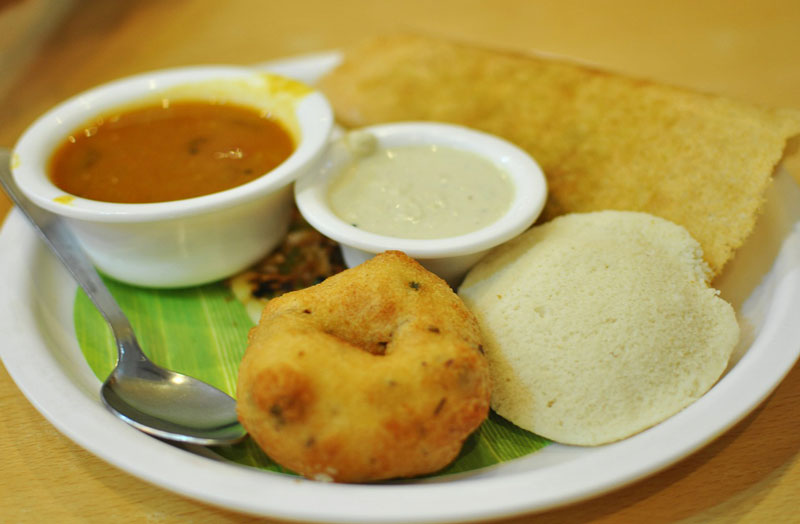 Idli dosa,    Photo   by gillnisha,    CC0 1.0
