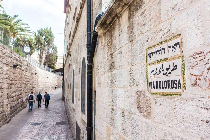 Via Dolorosa, The Way of the Cross