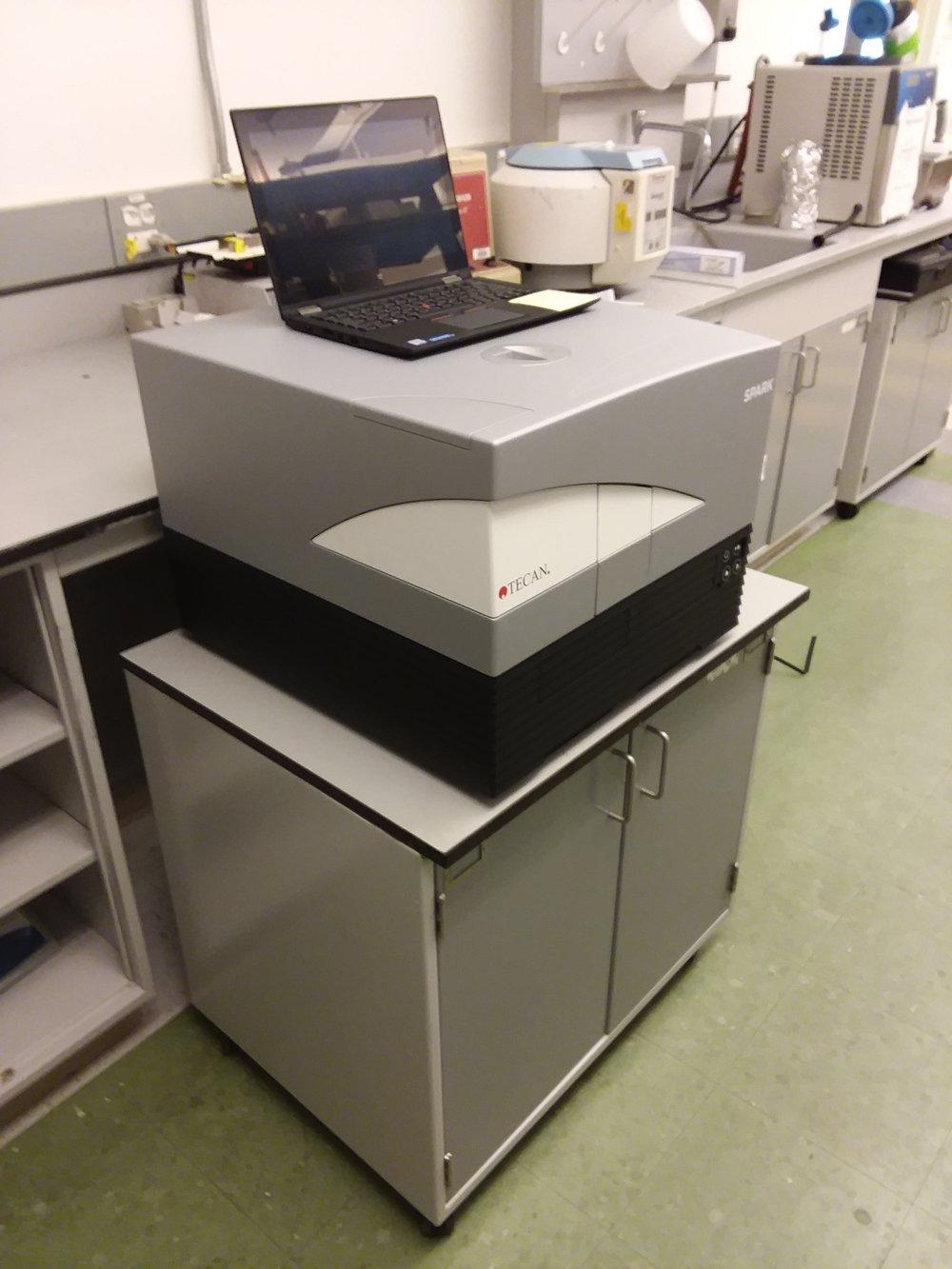Tecan Fluorescence Plate Reader