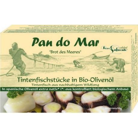 Pan do Mar mustekalaa oliiviöljyssä 120 g