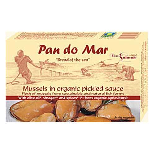 Pan do Mar luomusimpukoita luomukastikkeessa 120 g