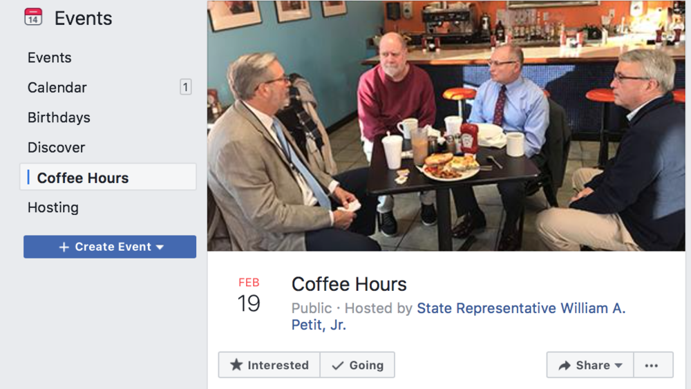 Meet new people with targeted Facebook events