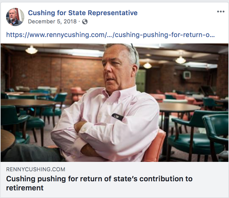 Note the website link - Team Cushing is controlling the release internally
