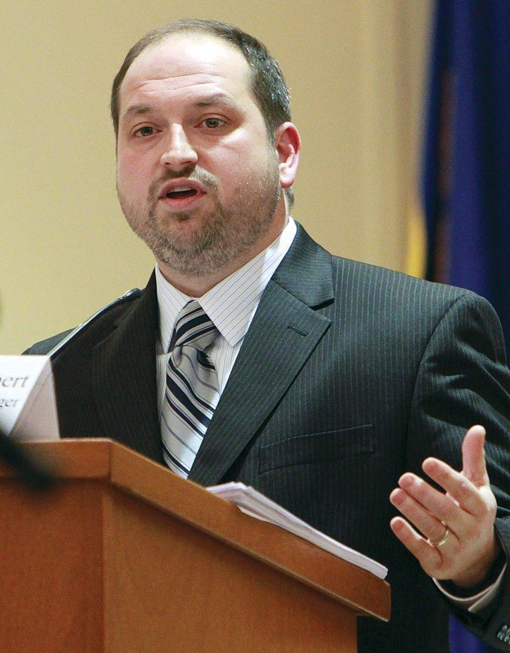Town Manager Michael Herbert