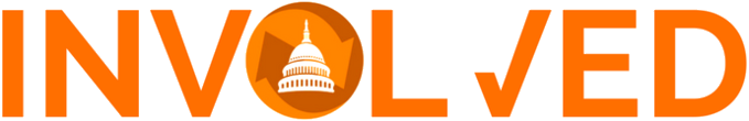 Involved orange logo transparent