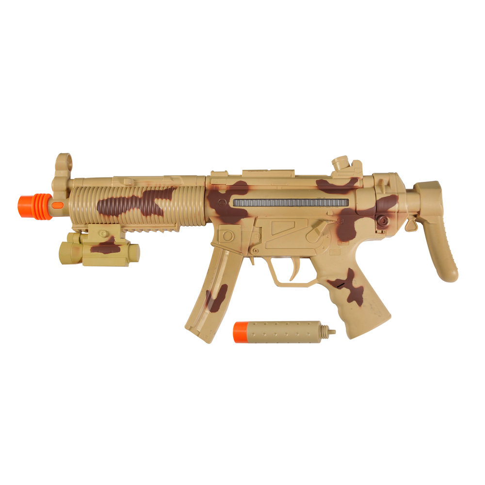 Maxx Action Tactical Machine Gun Toy with Silencer