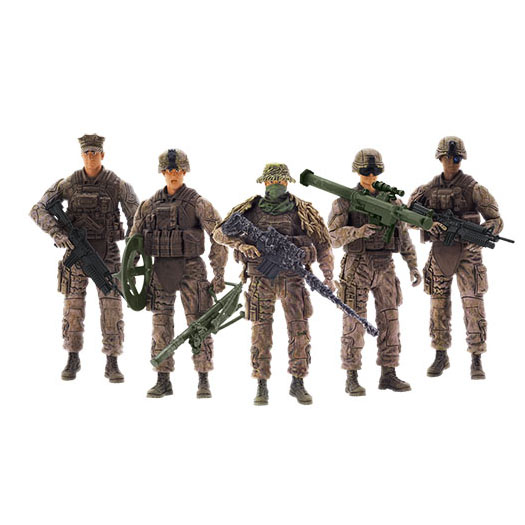 Elite Force Marine Force Recon 5 Pack Figures