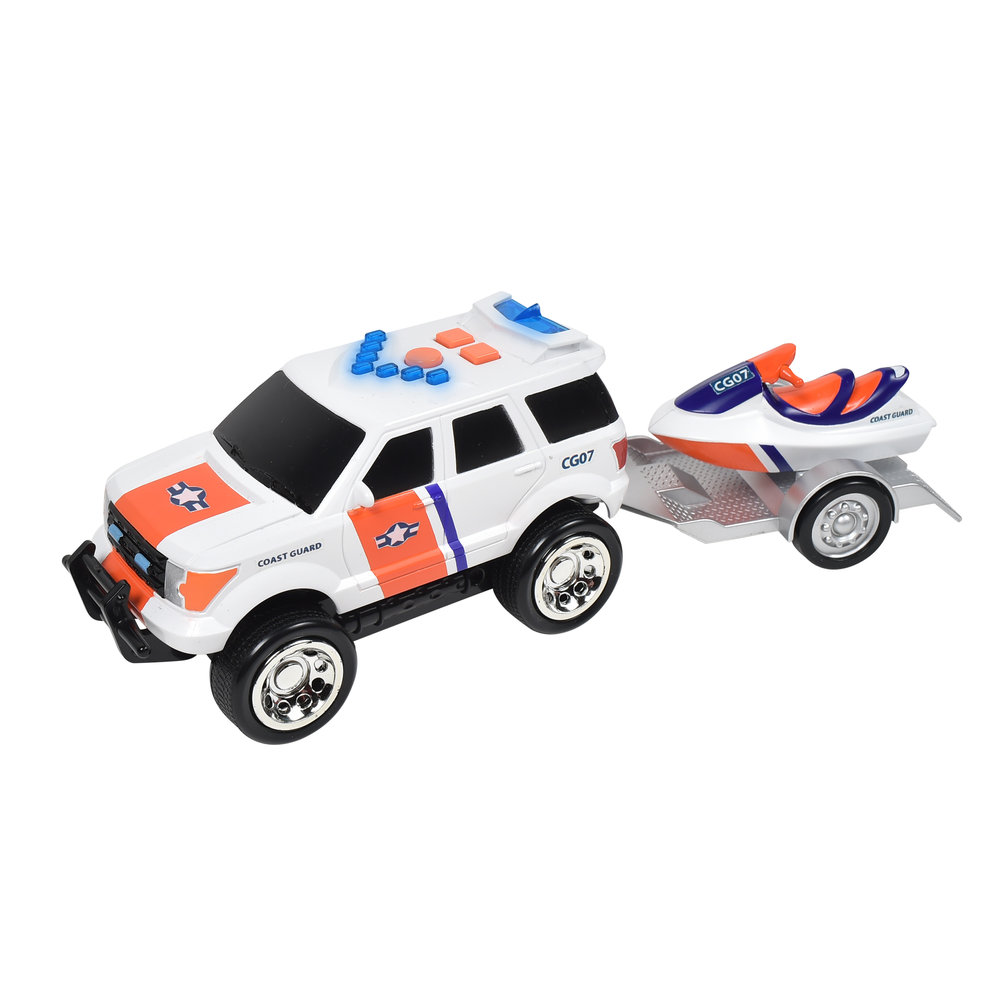 Maxx Action Mini Rescue Trailer