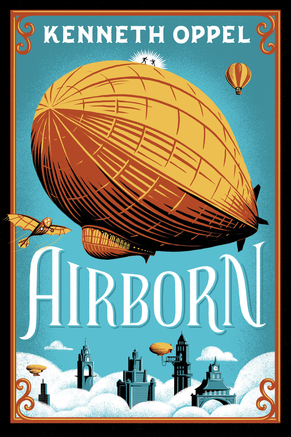 While crossing the Pacificus, Matt fearlessly rescues the unconscious pilot of a crippled hot air balloon -