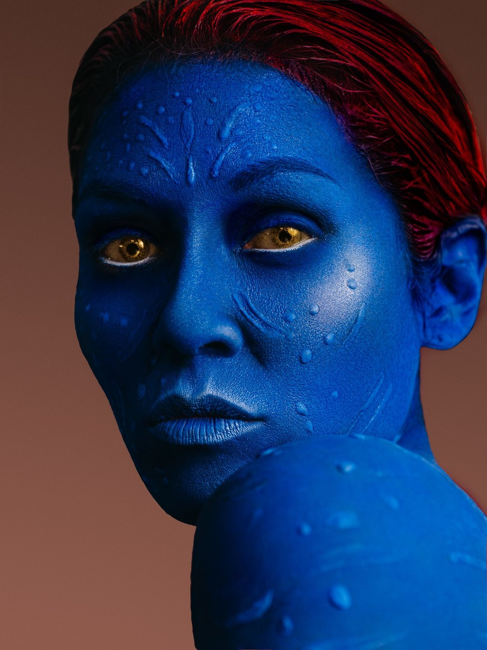 Mystique Creation - Makeup by Me - Photography by Sam Gold.  Model : Mimi Kitchens