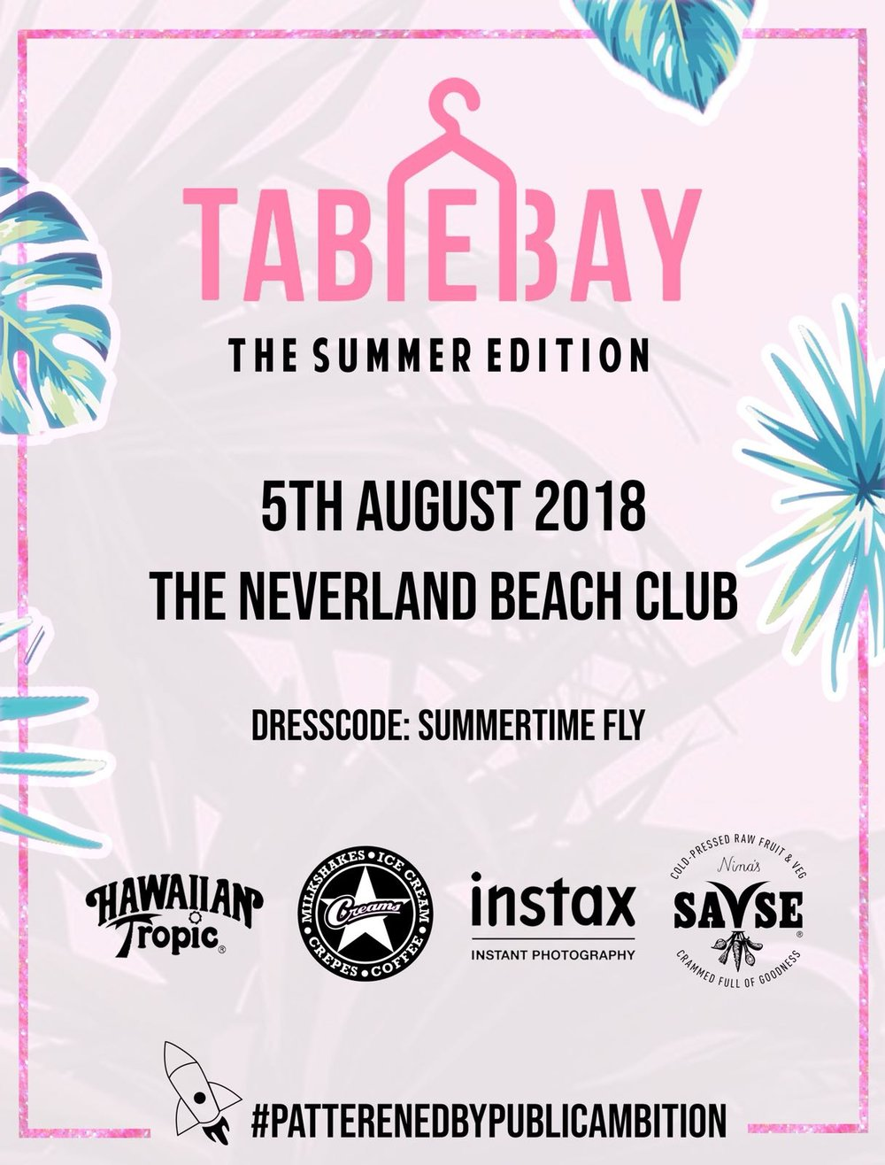 PUBLIC AMBITION X TABLE BAY -