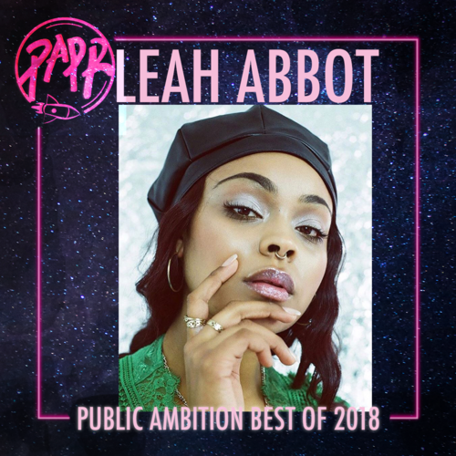 - We first met Leah Abbott in 2016 in a video interview where we spoke to her about her modelling career. After moving to London from Bristol, Leah balanced full time work with her social life, in our interview, she spoke about her dream of becoming a stylist/creative director. This year, Leah has hit those targets, touring the world with Jorja Smith, creating the most magical looks. It feels like we've all been waiting for Jorja to be styled by Leah, it just gets better and better every show. We're looking forward to seeing what 2019 holds for Leah, the possibilities are endless and we can't wait to see her growth.