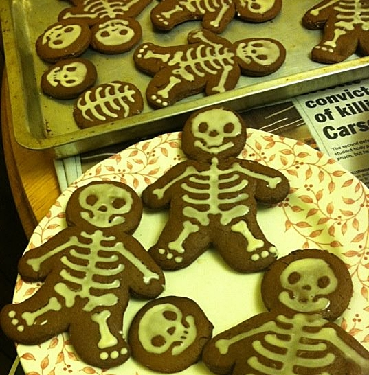 Gingerdead men, winter 2011