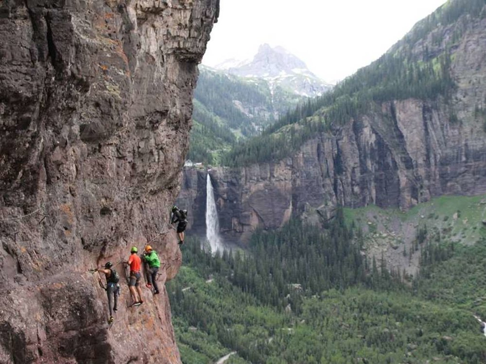 CLIFF HANGER - Telluride, Colorado