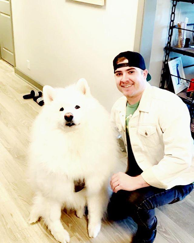 Give Kodi a follow @kodipoof He likes making new friends
