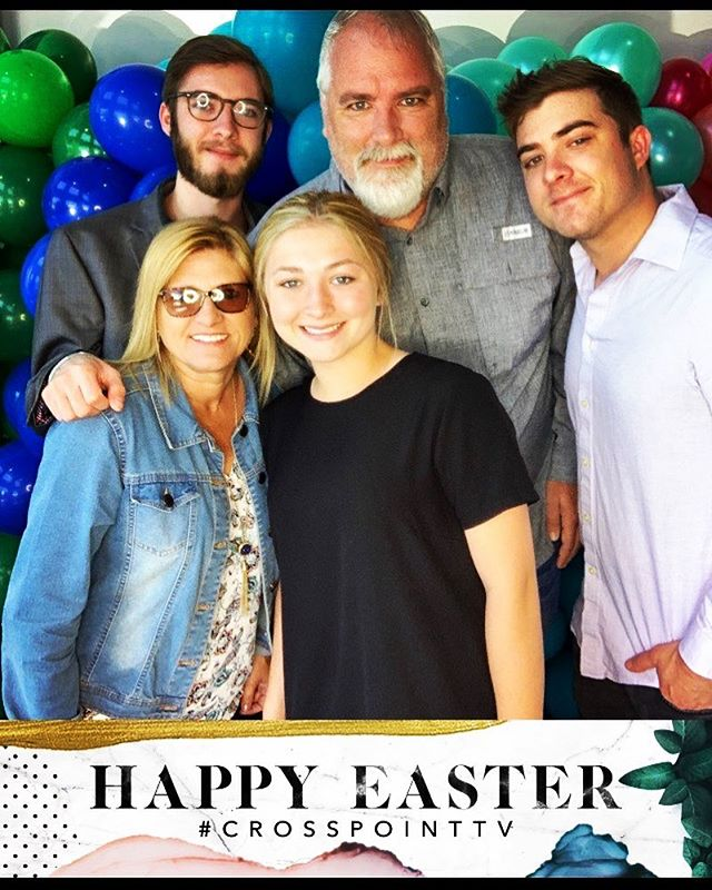 Happy Easter from the Lipsey crew #crosspointchurch #heisrisen