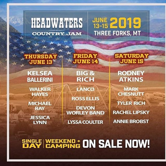Always dreamed of going to Montana. See y'all in June 🤟#headwaterscountryjam #montana