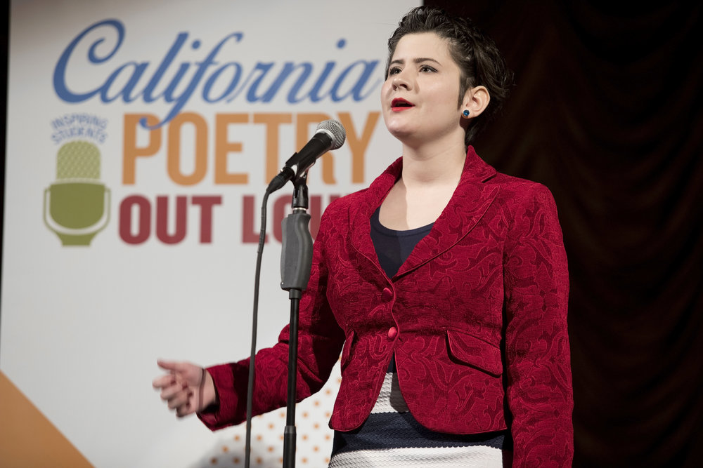 2017 California Poetry Out Loud State Finals