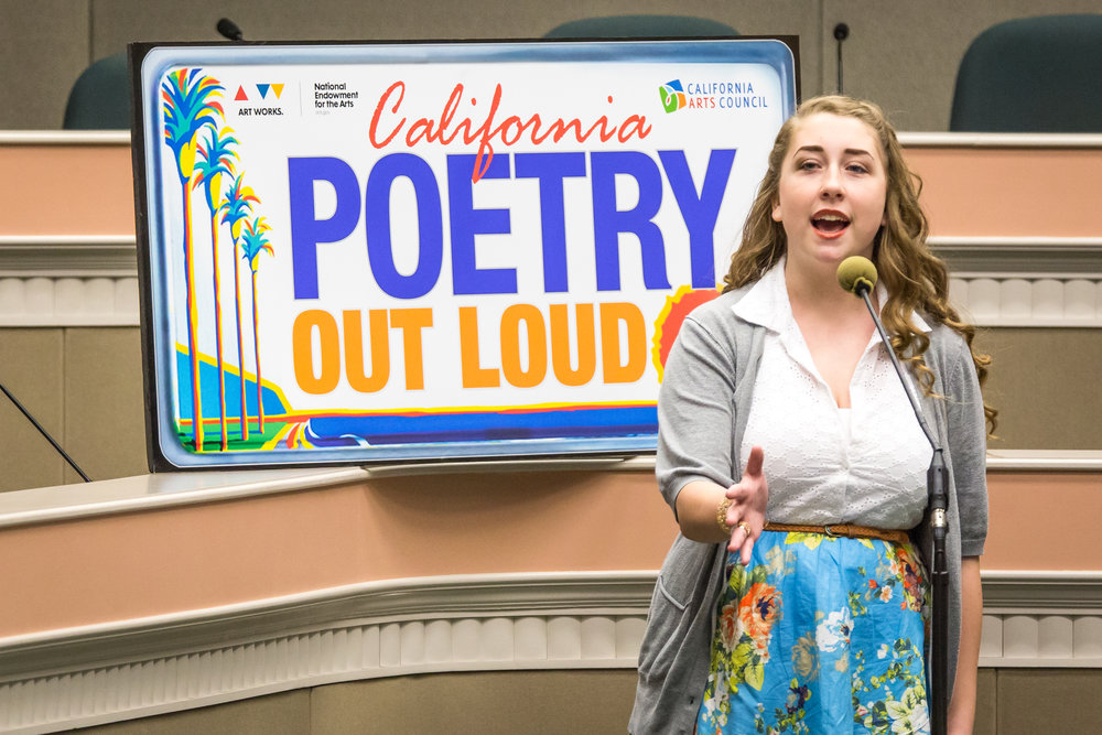2016 California Poetry Out Loud State Finals