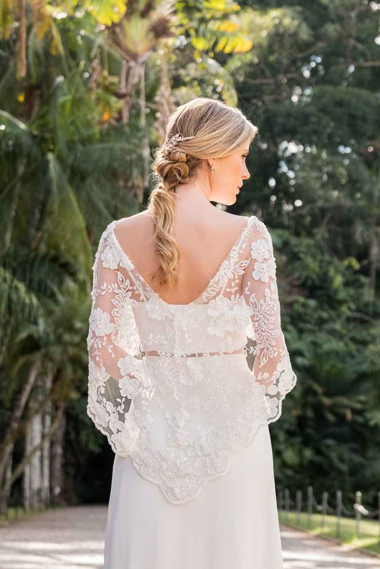 Vestidos Cropped + Saia Longa -
