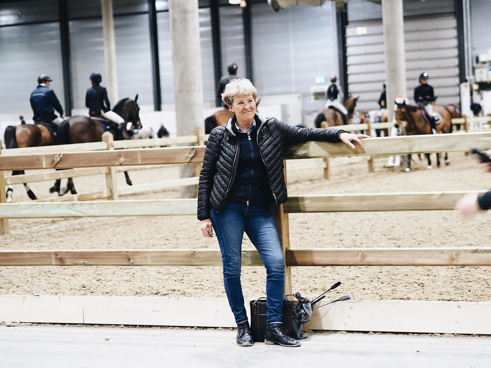 DRESSAGE LEGEND KYRA KYRKLUND - In the world of dressage she is known as a living legend, and she believes the most important thing a rider can do is to accept each horse's individual potential. Working on developing riders and horses is her true passion.