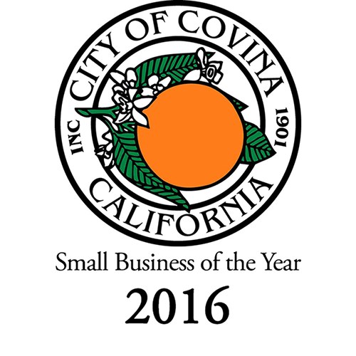Winner City of Covina Small Business of the Year 2016