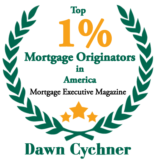 Dawn is one of mortgage Executive Magazine's top 1% Mortgage Originators in America.