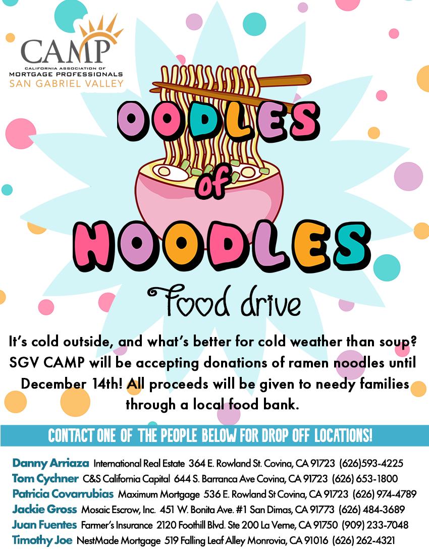 Oodles of Noodles Food Drive