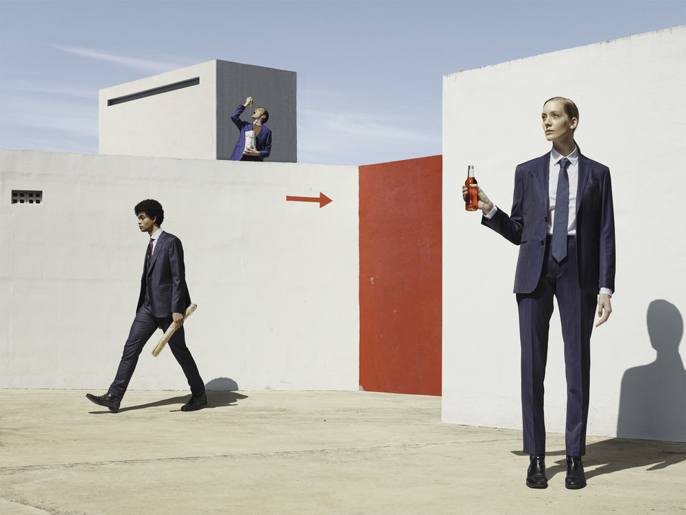 CLEMENS ASCHER - A Moderist Lunch Break - Vienna, Austria