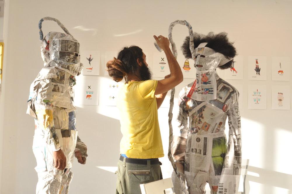 OMNI Zona Franca, Makina Total Free, Performance, Glasshouse 2013
