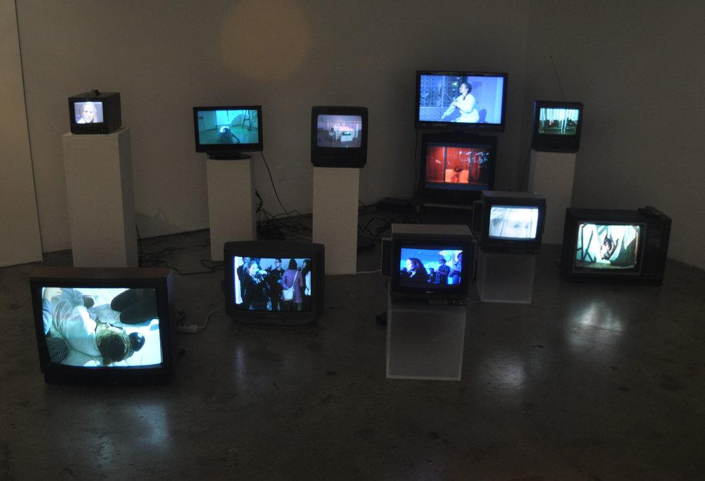 Of Evacuation, Installation view (2013)