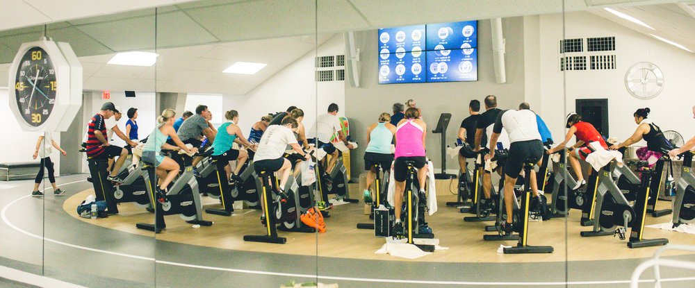 Annual Spin-a-thon with Personal Trainer, Michelle Miller