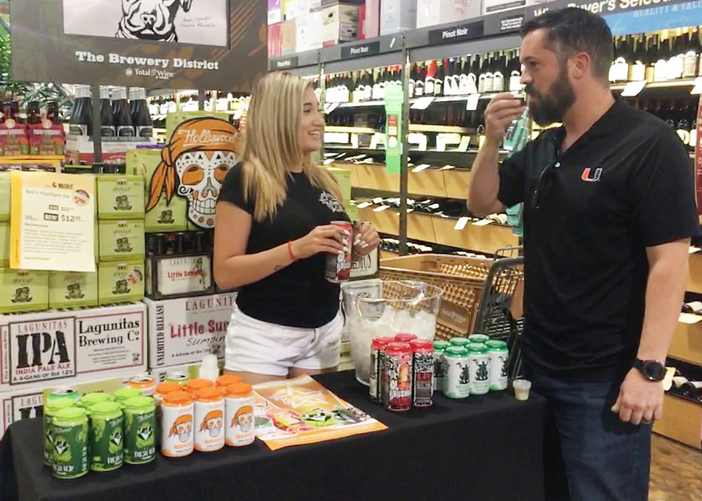 TASTING & SAMPLING:  Sometimes a new love needs a sampling. We'll set up sampling and tasting as often as possible to get your brand onto the tastebuds of as many people as possible!
