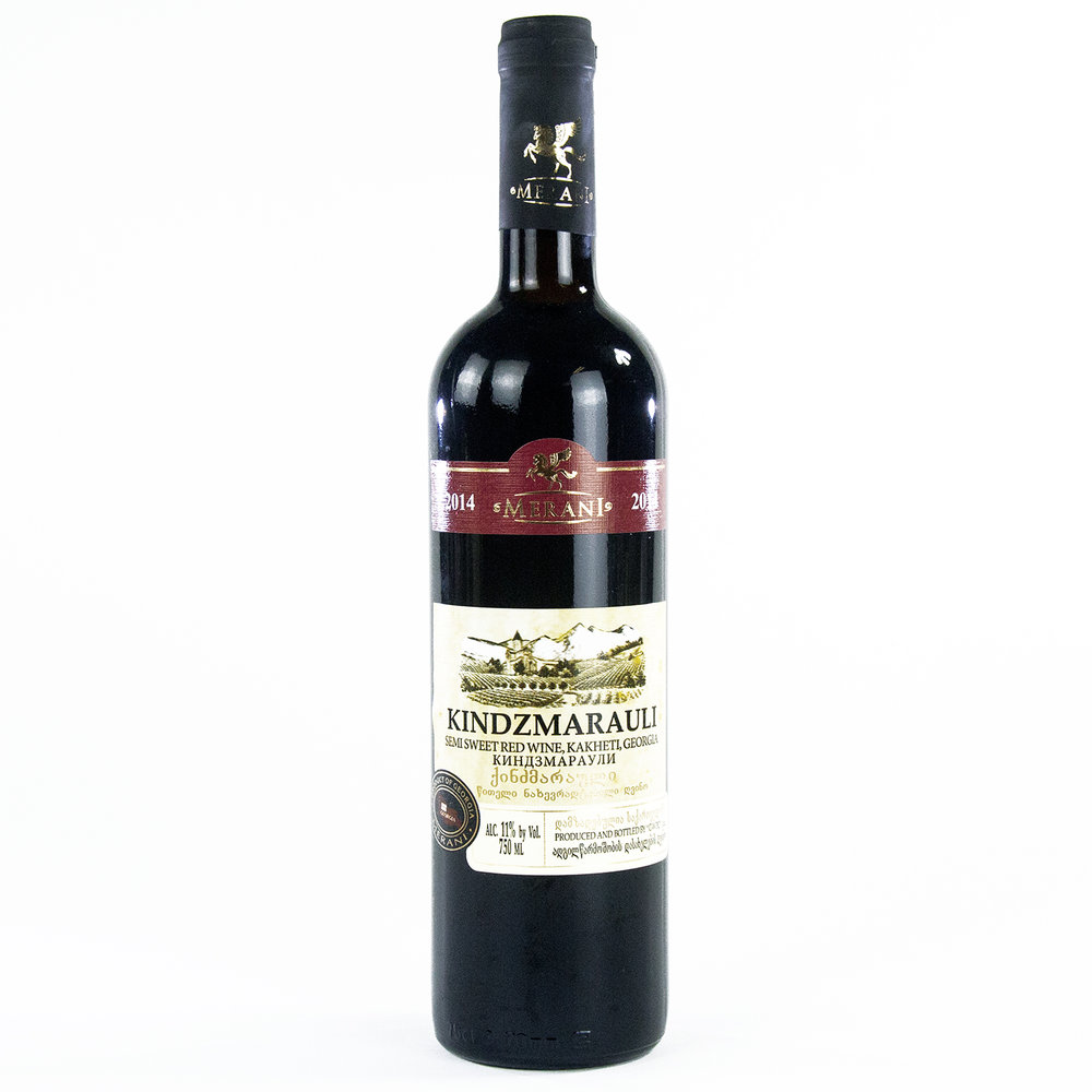 Merani Kindzmarauli Semi Sweet Red Wine