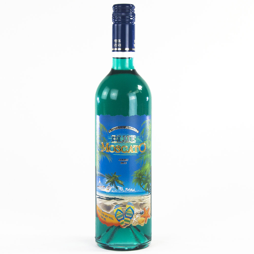 Paradise Island Blue Moscato