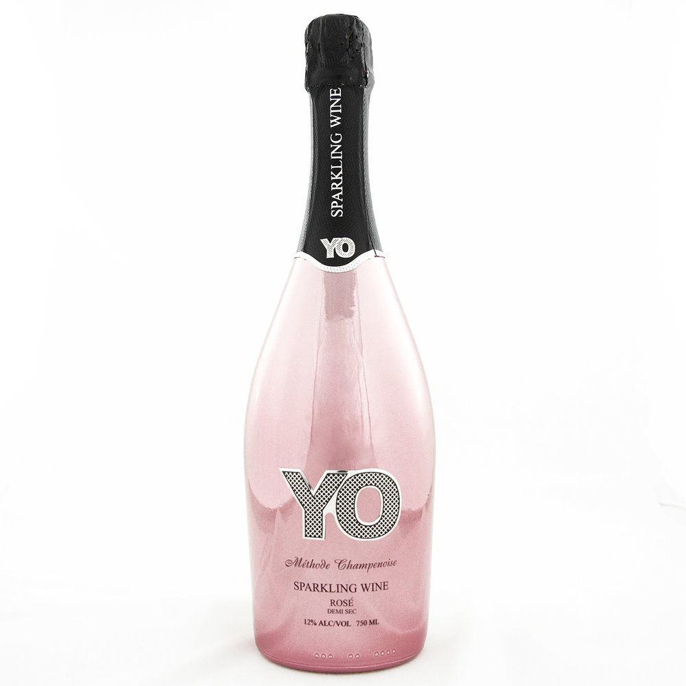 YO Sparkling Wine - Rose