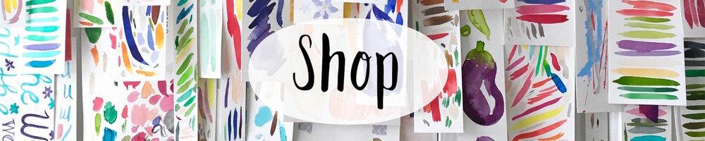 Amy Richards Illustration Watercolor Portrait and Papergoods Shop