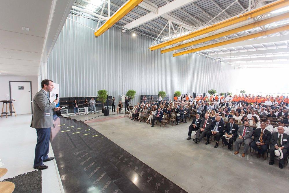 Inauguración ATCO Sabinco Chile Lampa CProducciones