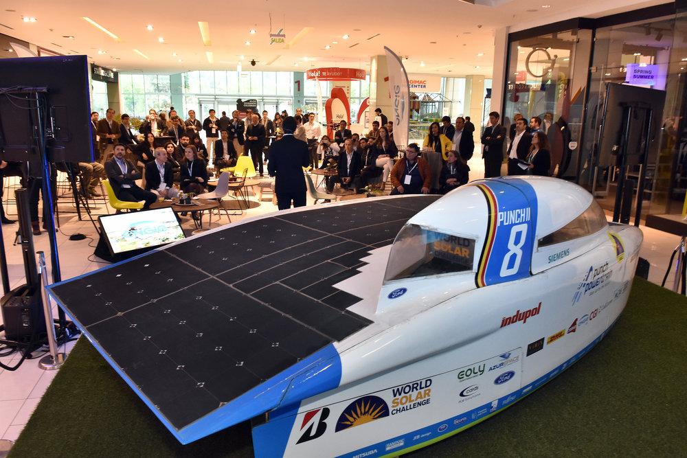 Carrera Solar Chile ENGIE Santiago Eventos Mall Plaza Energía