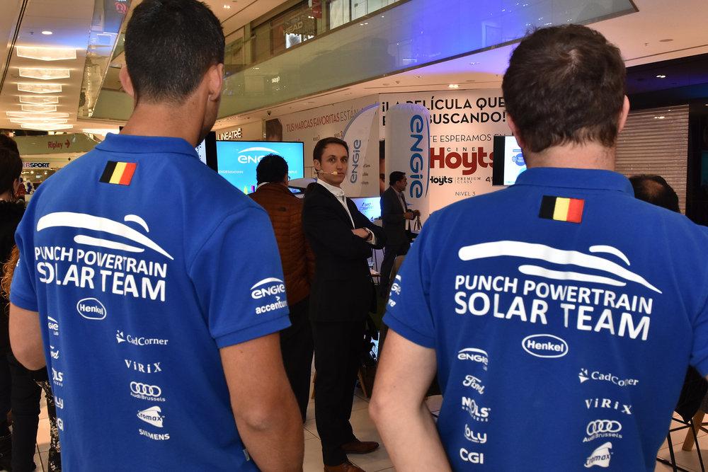 Evento ENGIE Solar Energía Chile Santiago Mall CProducciones