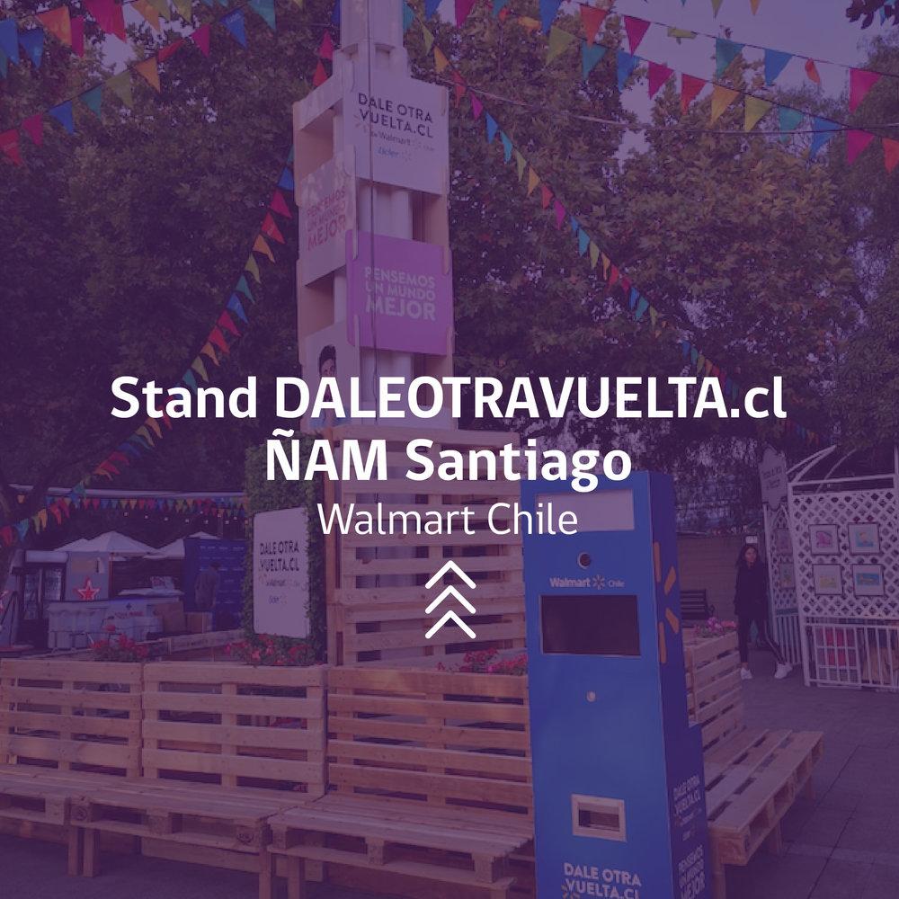 Evento Chile Walmart Santiago ÑAM CProducciones
