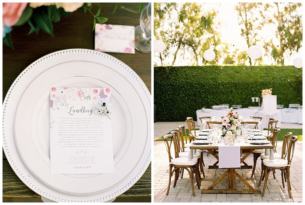 Firefly Garden Table Setting