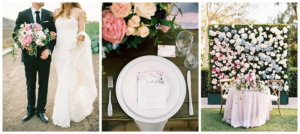 Enchanting Garden Wedding Bespoke Stationery