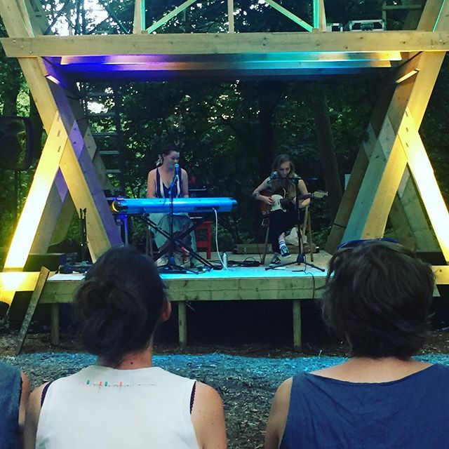 At @timberfestival listening to the wonderful tunes of @rhainmusic #music #timberfestival #tunes #love #festival