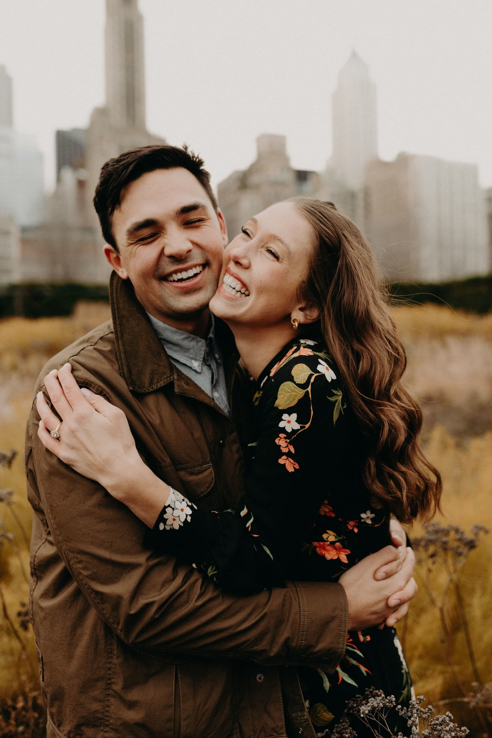 Jess + Jared | Chicago Engagement Photos
