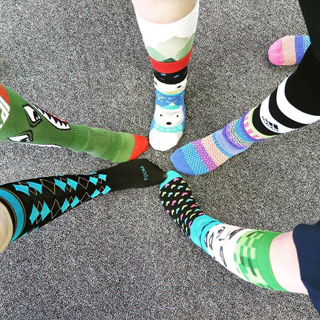 #LotsOfSocks for #WDSD18