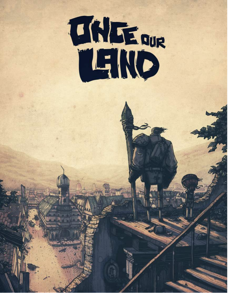 "Once Our Land - A Past-Apocalyptic tale of friendship and survival based on the graphic novel by Peter Ricq.An animated feature set in 1830's Germany, ""Once Our Land"" follows Ingrid as the resourceful girl wise-beyond-her-years scavenges for supplies and is forced to compete with a handful of other human survivors while terrifying beasts prowl the streets of her once beautiful city.Part light survival horror, part action, with strong heart and a healthy dose of levity-bringing humor, Once Our Land tells a touching tale of trust and friendship set against the backdrop of soul crushing horror.Writer: Phil Ivanusic-ValleeDirector: Peter RicqProducer: Amber Ripleyhttp://onceourland.com/"