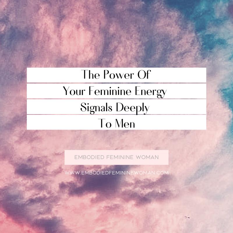 how to radiate feminine energy