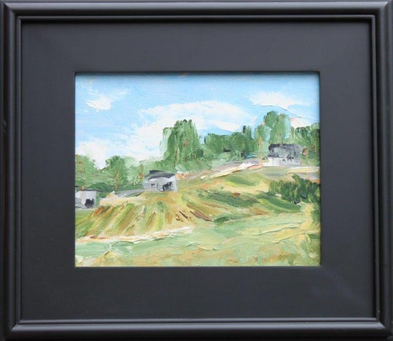Valley Vineyard Oil on Panel 8 x 10 $325.00