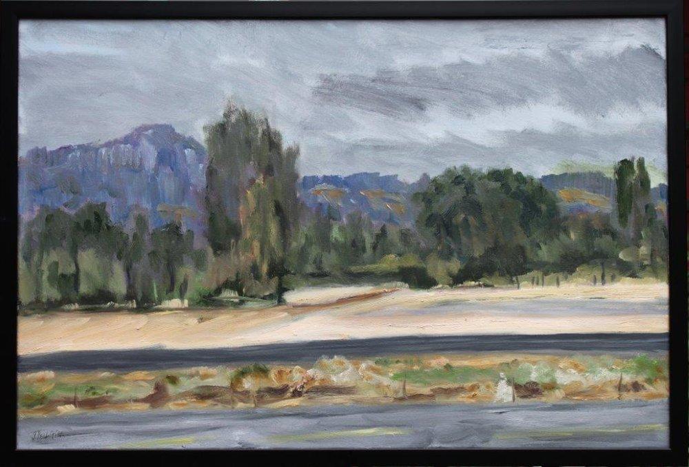 Flight Path Oil on Canvas 24 x 36 $525.00